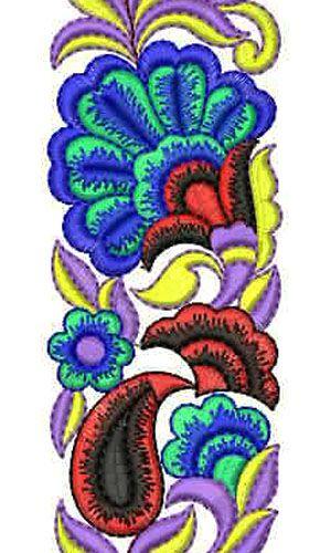 2014 Latest Fashion Embroidery Design