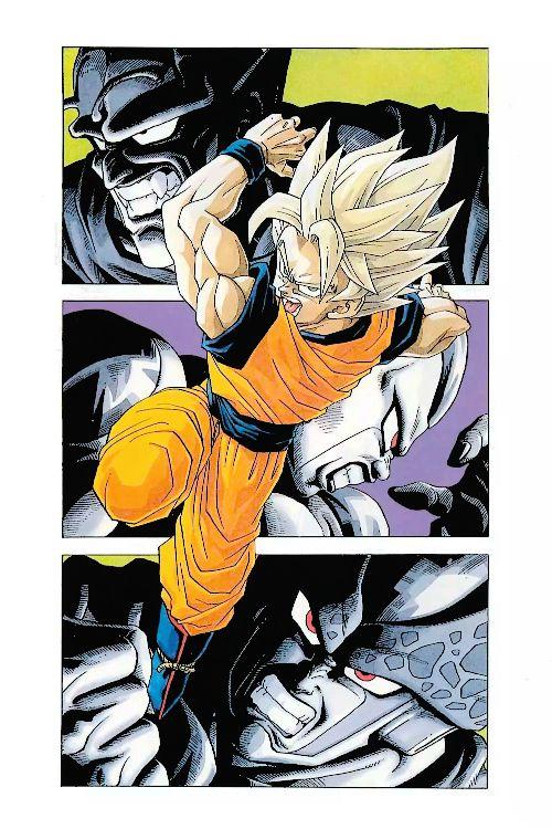 Goku piccolo frieza cell