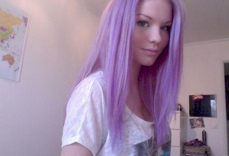 light purple hair dye for dark hair | Hairstyles | short ...