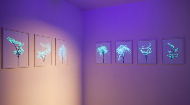 Electric-Trees- Invisible Ink trees by Universal Everything