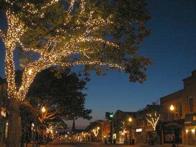 Downtown Oakville at Night