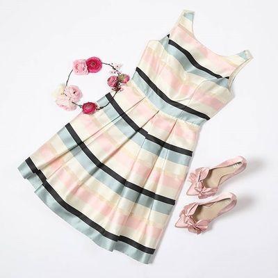 Messina Stripe Dress