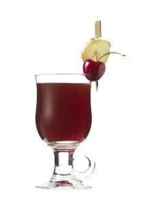 """#Cocktail Inspiration : Hot Frenchman's Punch 1 shot #Gvine #Gin Nouaison 1¾ shots sweet, dark red wine/madeira 2 shots hot water 1 barspoon honey 1 barspoon brown sugar ⅓ shot freshly squeezed lime juice Half a grated cinnamon stick One sprig of coriander One """"grate"""" of fresh nutmeg One """"nail"""" of ginger"""