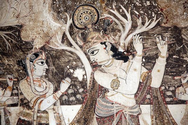 Love story of Radha and Krishna