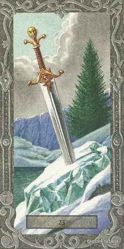 Ace of Swords - Tarot Of The Druids