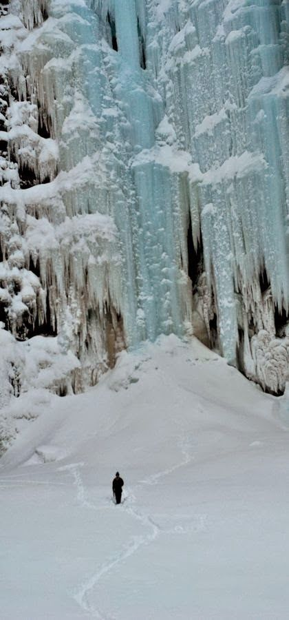 Njupeskär waterfall, Sweden - how beautiful