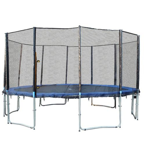 Exacme 15 FT Trampoline Large with Safety Enclosure Net and Ladder