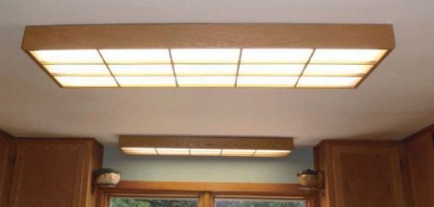 making fluorescent light look industrial - Google Search