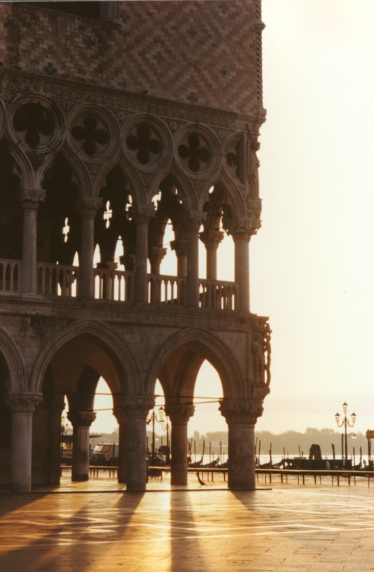Venice.  Doge's Palace, Palazzo Ducale , the seat of power of the Republic of Venice… Today, it is a museum.