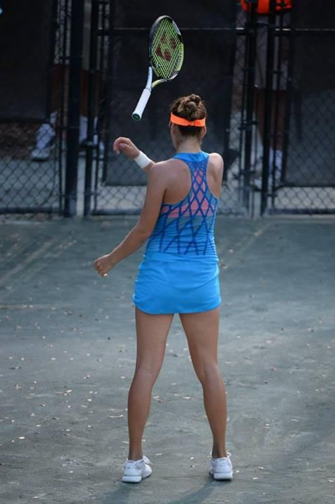 Belinda Bencic in her third round Match at the Family Circle Cup - Thursday, April 3rd 2014 (Day Session) #WTA #Bencic #FCC2014