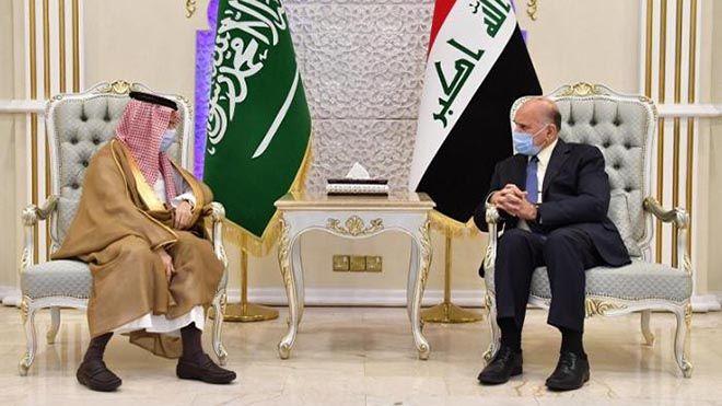 مباحثات عراقية سعودية لتوسيع آفاق التعاون الثنائي بحث وزير الخارجية العراقي فؤاد حسين اليوم السبت