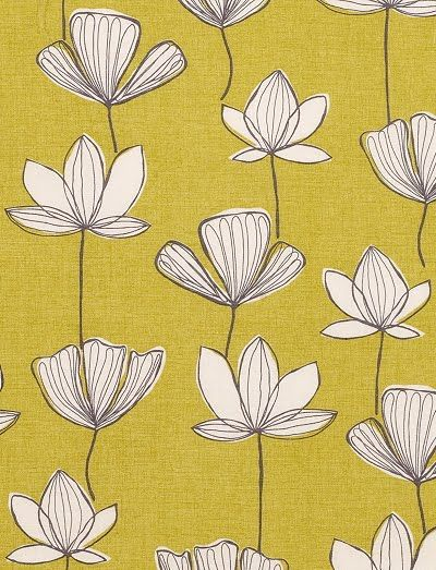 contemporary floral pattern