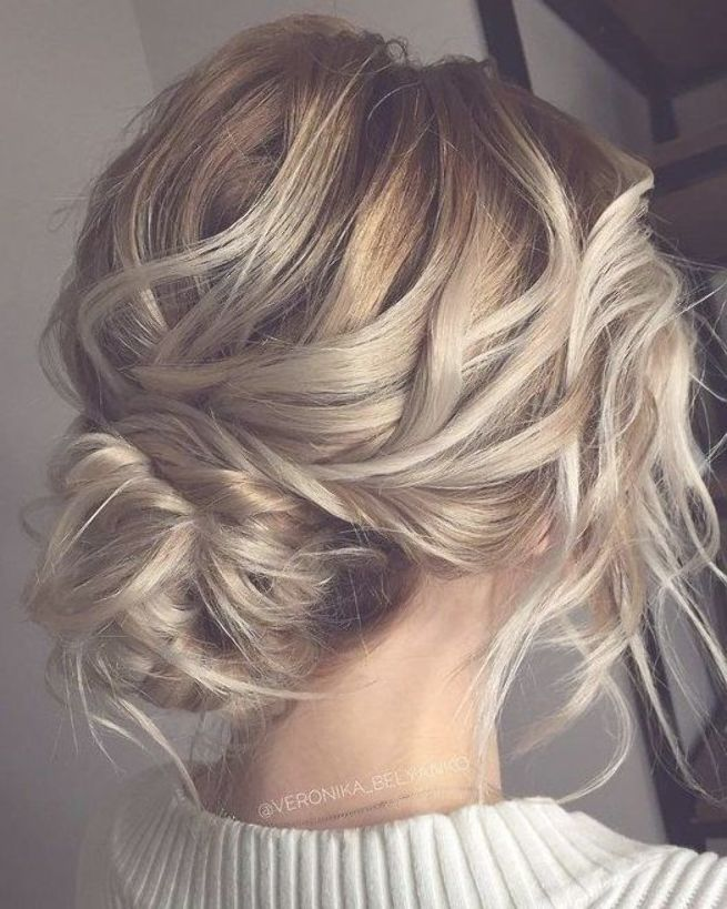 Wedding Hairstyles Updo Messy Boho Wedding Hairstyles Updo With Braid We Updos For Medium Length Hair Wedding Hairstyles Updo Messy Medium Length Hair Styles
