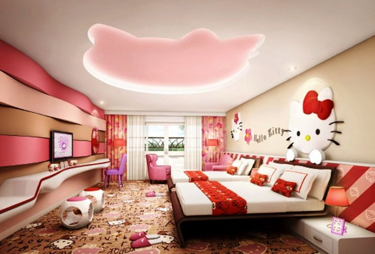 How to Decorate a Room of Hello Kitty