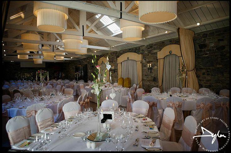 Beautiful wedding reception in Ballymagarvey Village, near Slane, Co Meath