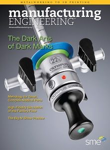 The June 2015 issue of Manufacturing Engineering is now online. In addition to taking an in-depth look at tooling, this issue of Manufacturing Engineering magazine unveils a new look for the magazine, welcomes new leadership to the helm at SME and launches an all-new column about advanced manufacturing.