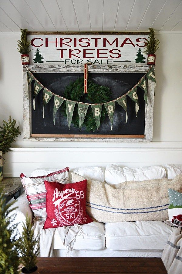 "Love it all... | ""Cozy cottage Christmas home tour. Love the pops of red and all of the cozy spaces. A must pin for Christmas Decour inspiration."""