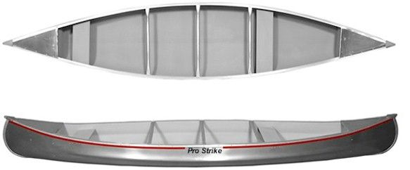Check out the 15' Classic Aluminum Canoe! The 15' Classic Aluminum Canoe is manufactured out of aircraft aluminum and heat treated in order to harden it for additional strength. These are produced in several thicknesses. For more information or to order, visit this items official page on DirectBoats.com. http://directboats.com/150moalca.html