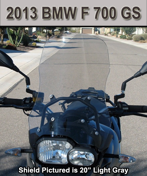 Cee Baileys   BMW F 700 GS 2013 Windshield