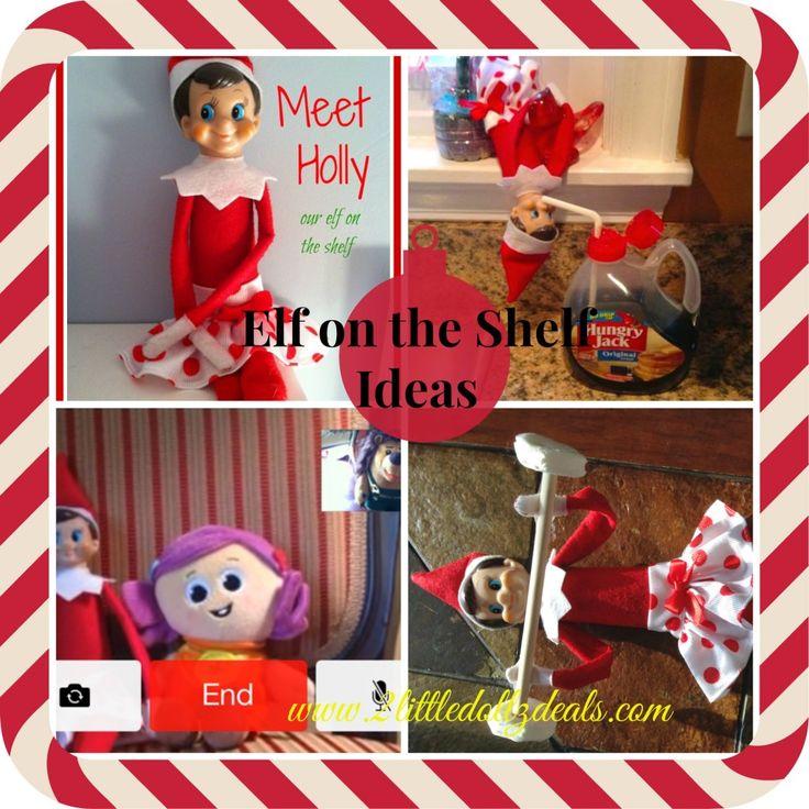 25 Easy & Creative Elf on the Shelf Ideas #Christmas #elf #Traditions -> http://www.2littledollzdeals.com/?p=11950