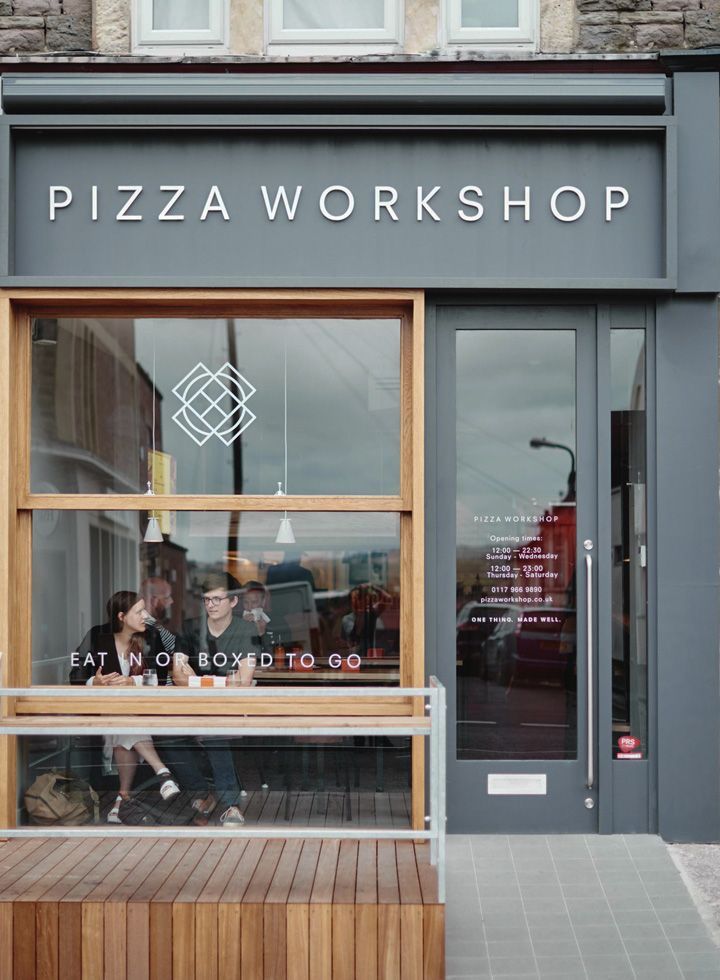 Pizza Workshop Restaurant Interior & Branding by Moon Design + Build, Bristol – UK » Retail Design Blog