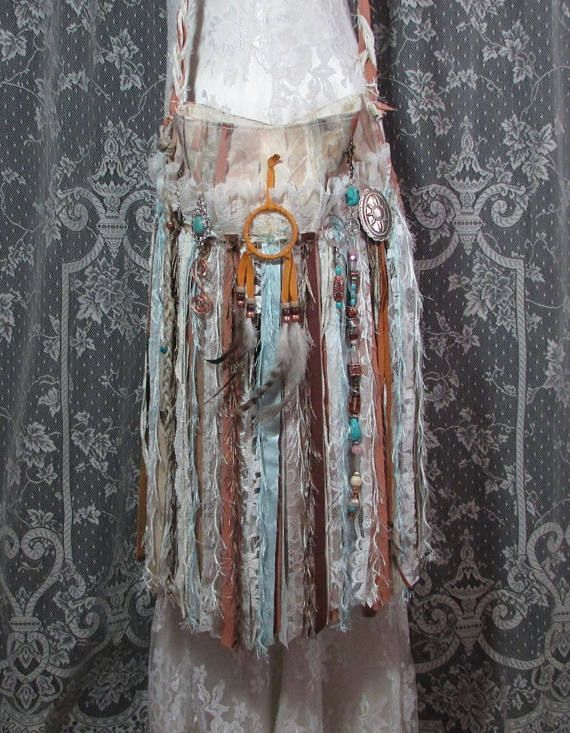 Hippie Gypsy Fringe Festival Bag  Native American Navajo