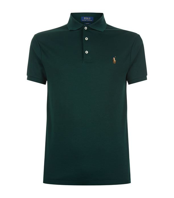 Polo Ralph Lauren Pima Cotton Polo Shirt Available To Buy At Harrods Shop Clothing Online And Earn Rewards Points Cotton Polo Shirt Shirts Cotton Polo