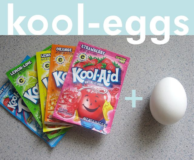 next year I will try this: Kool Aid, Kool Eggs, Eggs Dyes, Vibrant Colors, Koolaid, Easter Eggs, Dyes Easter, Great Ideas, Kid