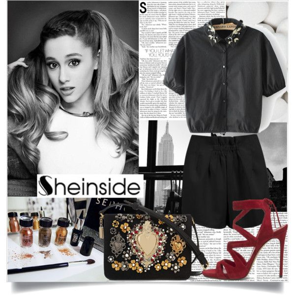sheinside.com 8/18 by pokadoll on Polyvore featuring Dolce&Gabbana and Sheinside