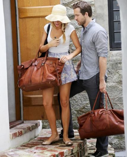 Blake Lively & Ryan Reynolds' Cutest Couple Moments - In South Carolina, 2012 - from InStyle.com