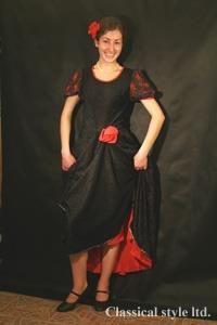 Испанские женские народные костюмы