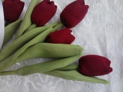 Tulipán csokor  (Teafa) - Meska.hu
