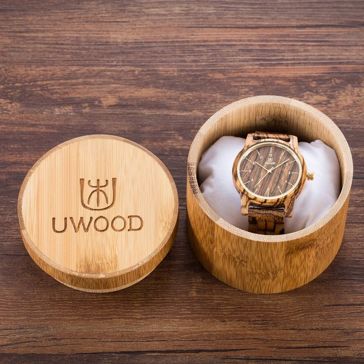 Wooden Watches Men Fashion Natural Wristwatch With Bamboo Gift box Lovers Luxury Wood Watches For Men Women Best Idea Gifts