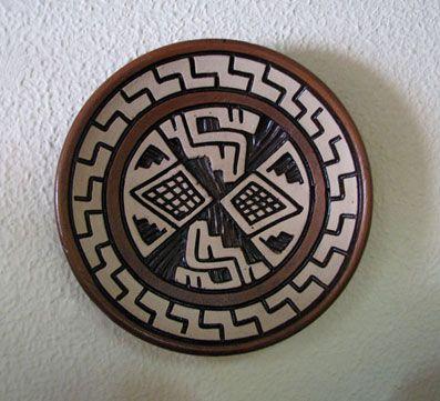 Cerâmica Marajoara, arte indígena - Brasil