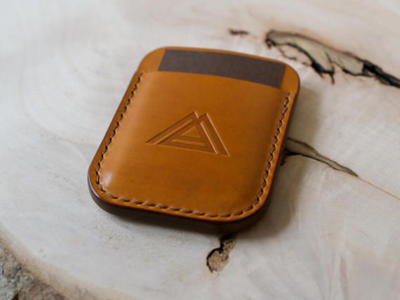Leather Card Holder Wallet Minimalist Wallet Everyday Carry