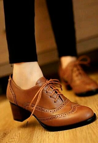 Cute brown booties