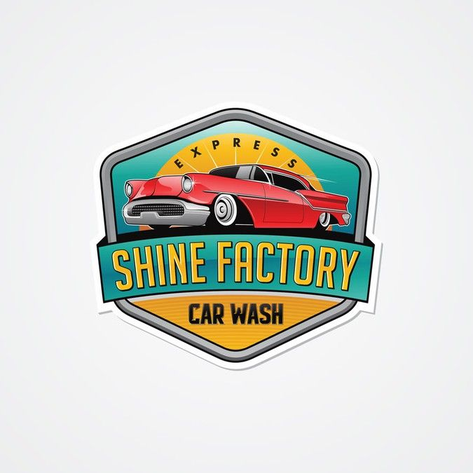 Freelance Work Projects Shine Factory Express Car Wash needs a bold look thats catchy and reflects the modern fast car wash. by hey John!