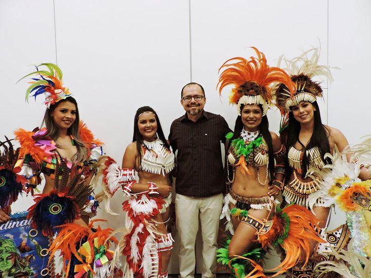 Barcelos mostra ao Amazonas o Bailado do Peixe Ornamental na Feira de Turismo e Gastronomia   Barcelos na NET - Barcelos Amazonas