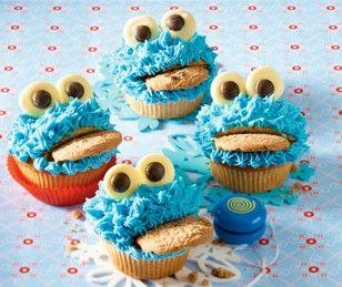 Krümelmonster-Muffins Rezept - Chefkoch-Rezepte auf LECKER.de | Kochen, Backen und schnelle Gerichte