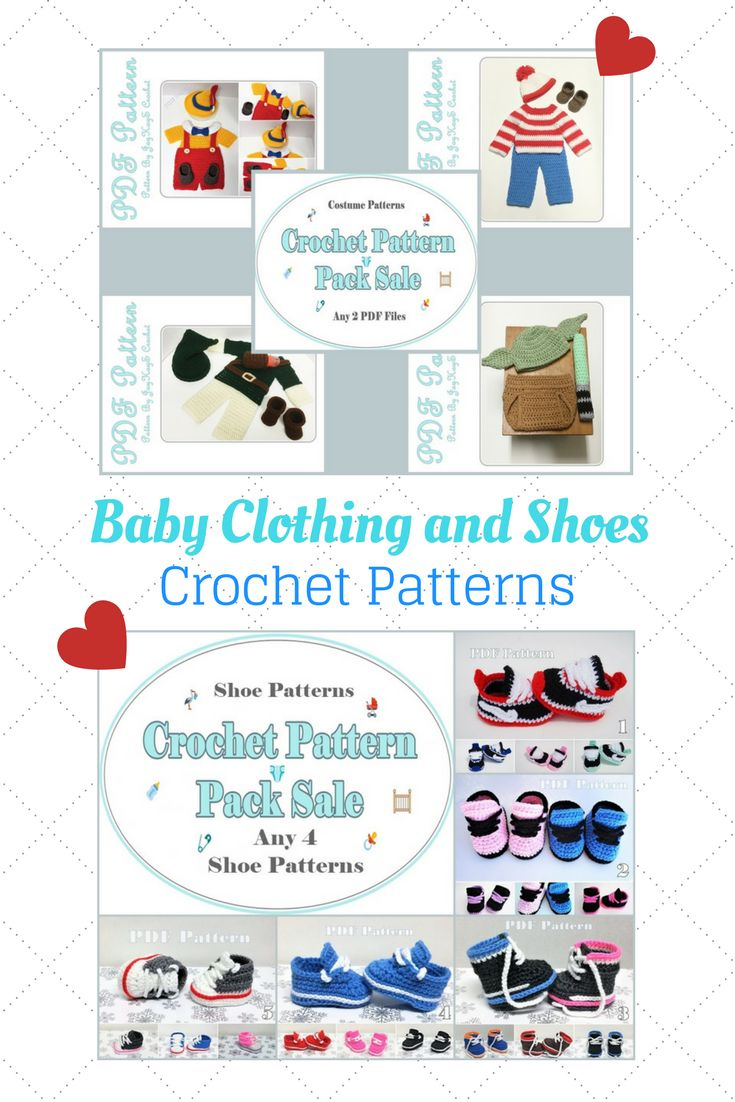 Crochet Baby Patterns ~ Baby Shoes Clothing Costumes