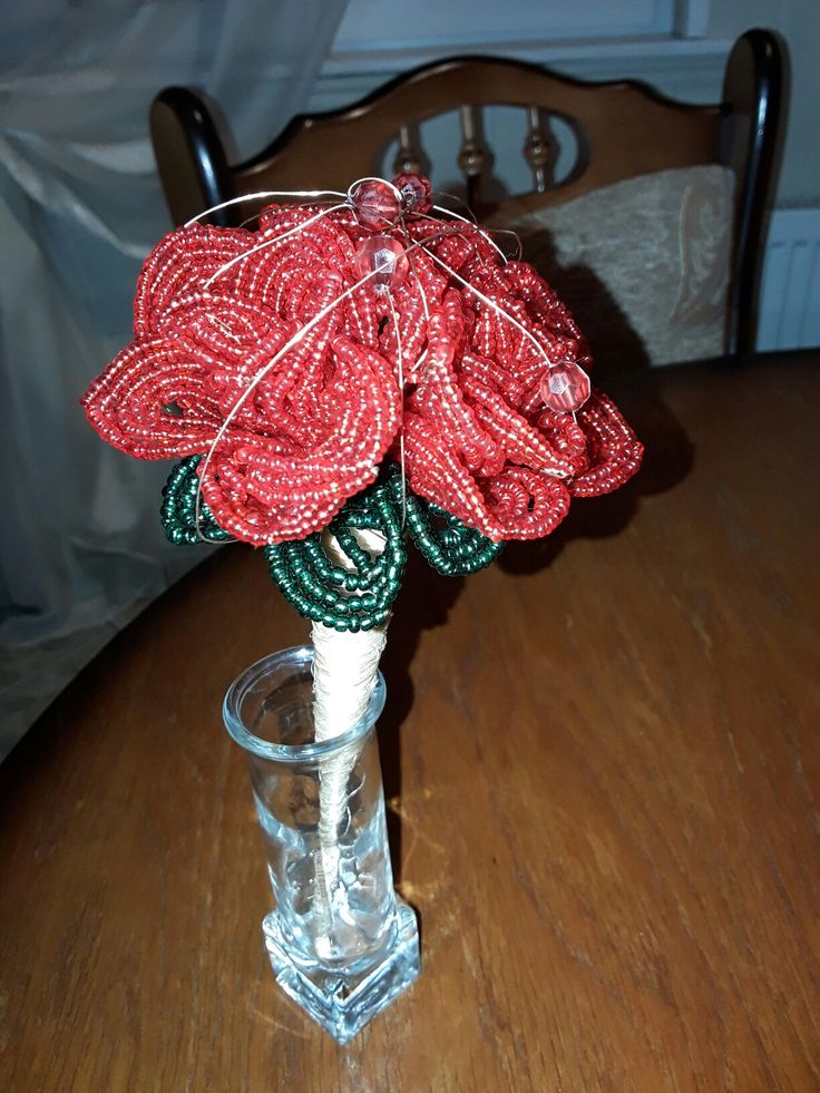 #rosebouquet #bead #mini