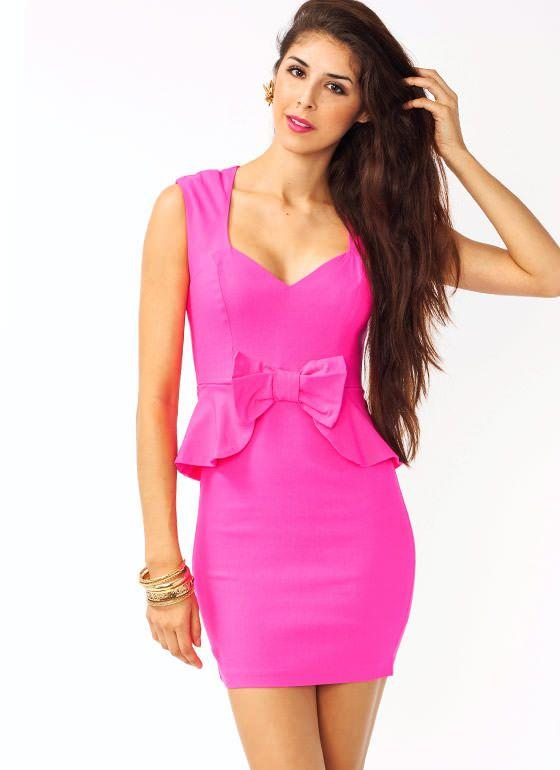 102 best Peplum images on Pinterest   Peplum dresses, Short ...