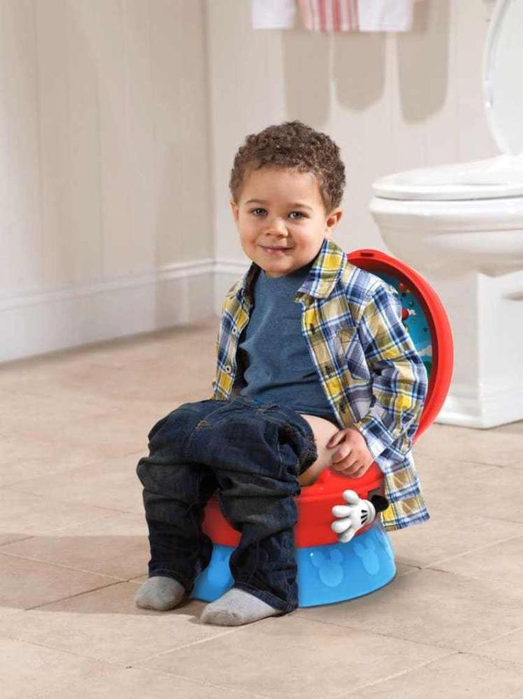 Mickey Mouse Potty Seat Toilet Training Chair 3-In-1 the First Years Disney Baby #TheFirstYears