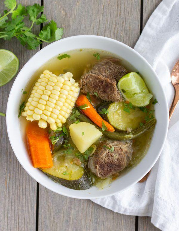 3 Caldo de Res (Mexican Beef Soup)