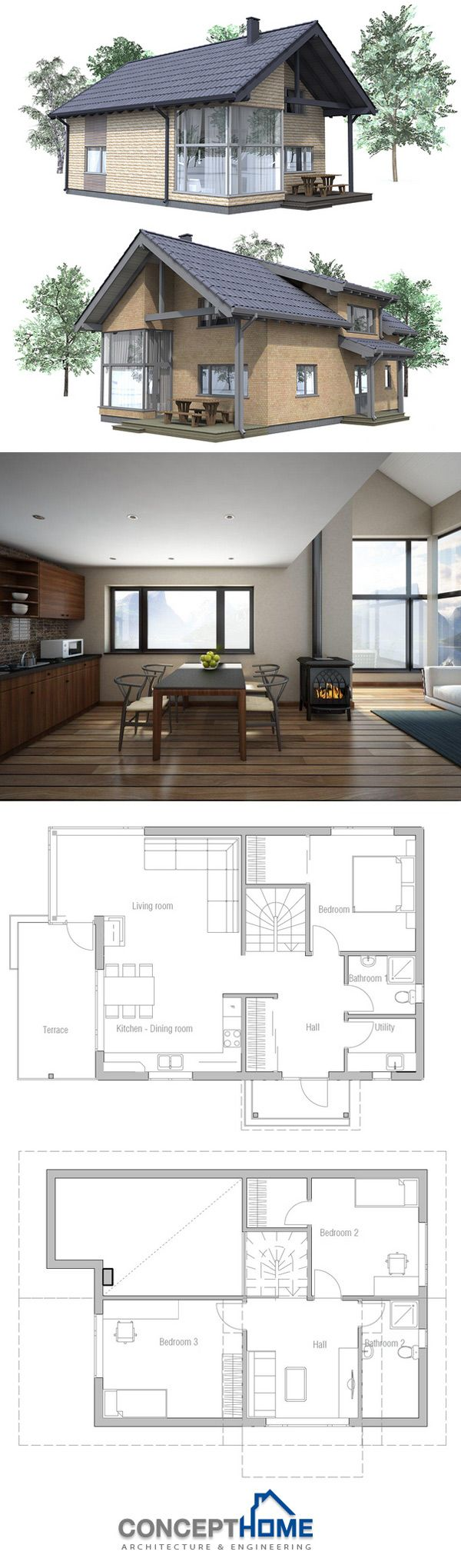 38 best tiny lot house plans images on pinterest small houses tiny house and tiny house blueprint