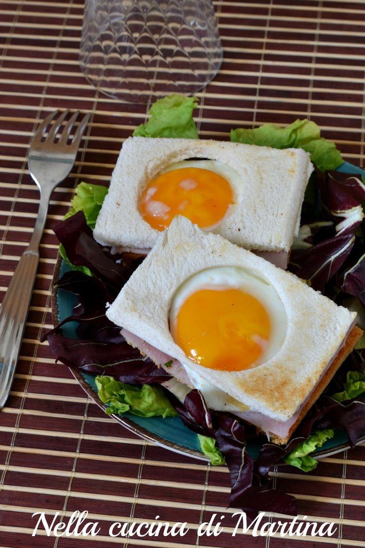 panino con uovo ricetta nella cucina di martina