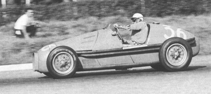 #36 Maurice Trintignant (F) - Gordini T16 (Gordini 6) 5 (8) Equipe Gordini