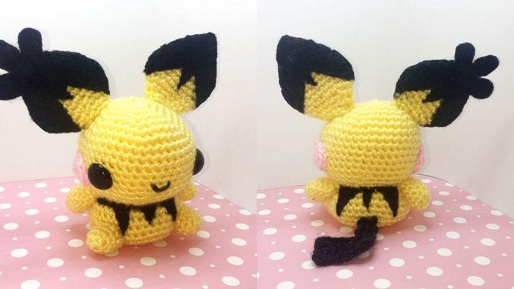 Pichu Amigurumi Crochet Tutorial