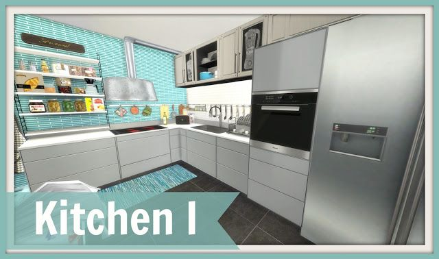 Sims 4 - Kitchen I