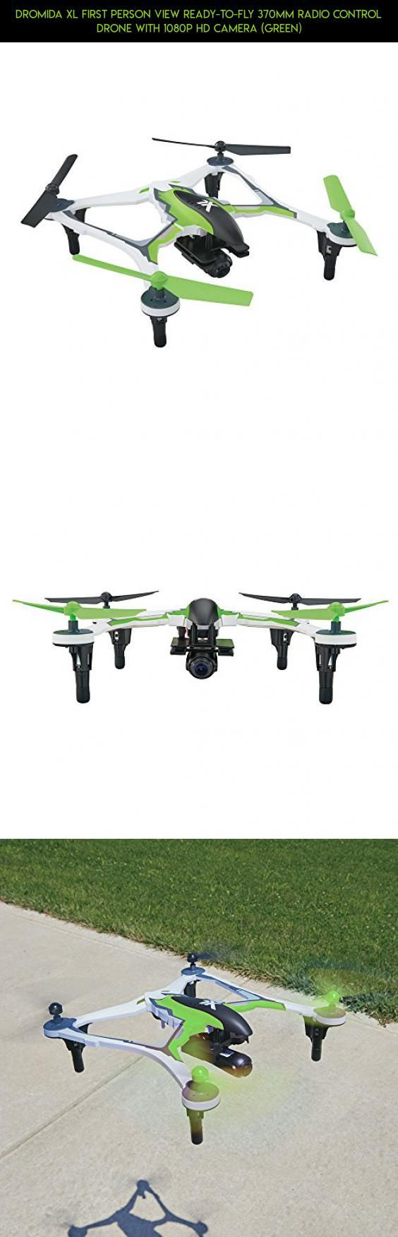 Dromida XL First Person View Ready-to-Fly 370mm Radio Control Drone with 1080p HD Camera (Green) #products #camera #lipo #plans #tech #gadgets #technology #racing #shopping #kit #2s #drone #dromida #fpv #parts